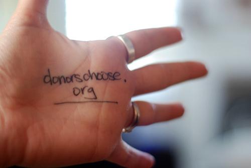 Donorschooseorg