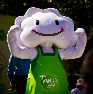 Dumpling mascot