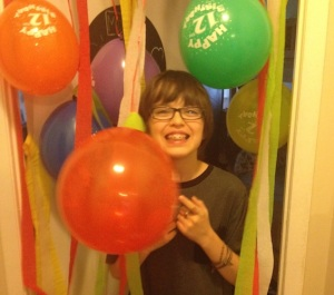 Mason 12th birthday