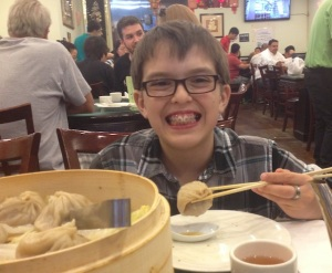 Mason soup dumplings
