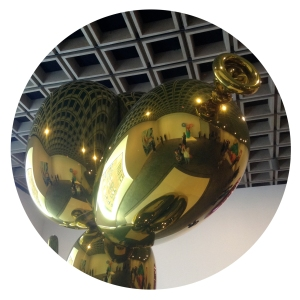 jeff koons, celebration, balloon dog