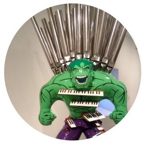 jeff koonz, hulk elvis, hulk (organ)