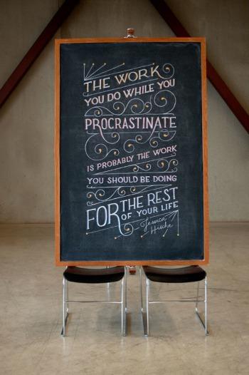Jessica Hische procrastination