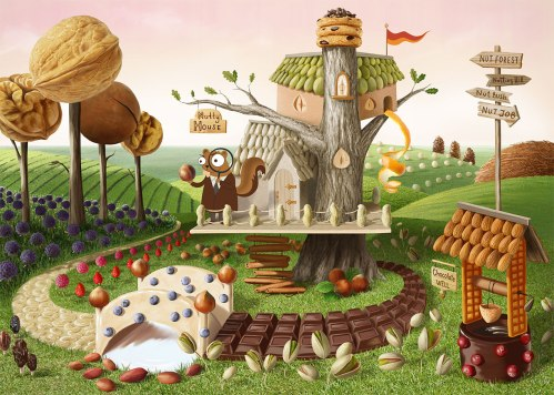 nutty house by Anna Makarova