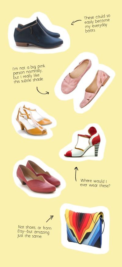 fake shop friday: etsy shoes