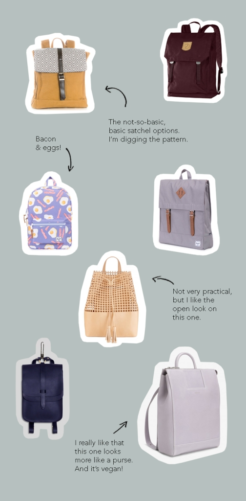 Stylish backpacks you could use anywhere.