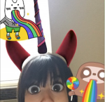 my new found craziness with snapchat