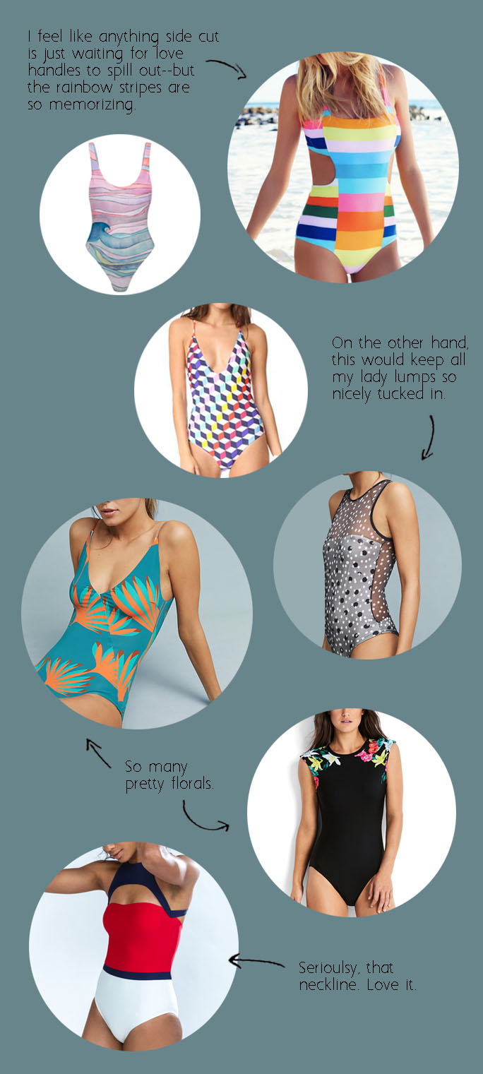 Cutest one-piece swimsuits and where to shop them!